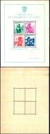 84379) Jugoslavia-1937-esposizione Filatelica Di Belgrado-costumi Regionali-Bf-n.1 Nuovo - Nuovi
