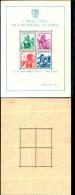 84380) Jugoslavia-1937-esposizione Filatelica Di Belgrado-costumi Regionali-Bf-n.1 Nuovo - Nuovi