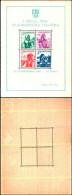 84381) Jugoslavia-1937-esposizione Filatelica Di Belgrado-costumi Regionali-Bf-n.1 Nuovo - Nuovi