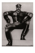 TOM OF FINLAND GAY INTEREST POSTCARD 51 -  SIZE: 15X10 CM. APROX. MINT - Cómics