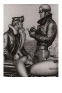 TOM OF FINLAND GAY INTEREST POSTCARD 57 -  SIZE: 15X10 CM. APROX. MINT - Cómics
