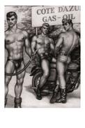 TOM OF FINLAND GAY INTEREST POSTCARD 59 -  SIZE: 15X10 CM. APROX. MINT - Cómics