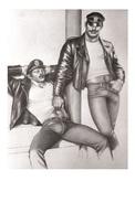 TOM OF FINLAND GAY INTEREST POSTCARD 60 -  SIZE: 15X10 CM. APROX. MINT - Cómics