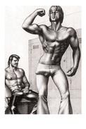 TOM OF FINLAND GAY INTEREST POSTCARD 61 -  SIZE: 15X10 CM. APROX. MINT - Cómics