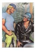 TOM OF FINLAND GAY INTEREST POSTCARD 62 -  SIZE: 15X10 CM. APROX. MINT - Cómics