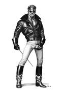 TOM OF FINLAND GAY INTEREST POSTCARD 64 -  SIZE: 15X10 CM. APROX. MINT - Cómics