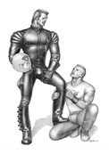 TOM OF FINLAND GAY INTEREST POSTCARD 66 -  SIZE: 15X10 CM. APROX. MINT - Cómics