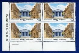 France Y&t: N° 5088 France-Portugal Rue Royale, Paris, Coin De Feuille Daté 02.08.16     Neuf** - 2010-....
