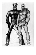 TOM OF FINLAND GAY INTEREST POSTCARD 67 -  SIZE: 15X10 CM. APROX. MINT - Cómics