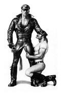 TOM OF FINLAND GAY INTEREST POSTCARD 70 -  SIZE: 15X10 CM. APROX. MINT - Cómics