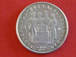 5 Krone Constitution 1959 En Argent - Monnaies