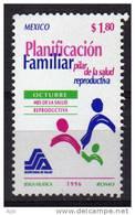 La Planification Familiale, Pilier De La Sante. .   1 T-p Neuf **  1996 - Mexique