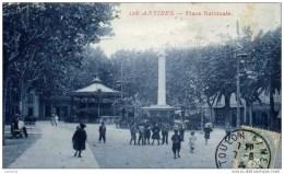 06 ANTIBES Place Nationale-animée - Non Classés