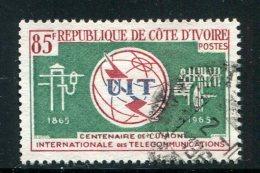 Cote D´ivoire Y&T N°235 Oblitéré - Côte D'Ivoire (1960-...)