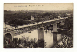Cpa N° 3754 DOUARNENEZ Perspective Du Grand Pont - Douarnenez