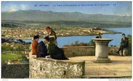 06 ANTIBES La Table D´orientation,,,,de La Garoupe-Très Animée - Non Classés