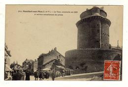Cpa N° 212 MONTFORT SUR MEU La Tour Construite En 1389 Et Servant Actuellement De Prison - Altri Comuni