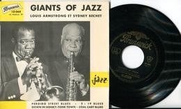 "SIDNEY BECHET / LOUIS ARMSTRONGEP Vinyle""Perdido Street Blues""Giants Of Jazz"" - Jazz"