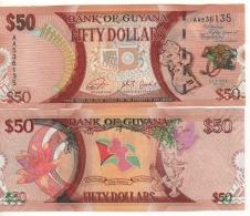 "GUYANA   Attractive New 50 Dollars ""commemorative""   (Pnew)   2016   UNC - Guyana"