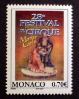 MONACO # 2311.  0,70€, 28th International Circus Festival. MNH (**) - Monaco