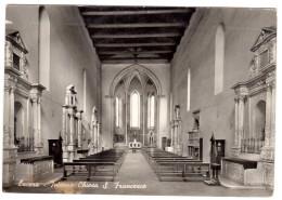 FB34     LUCERA (Foggia) - Interno Chiesa S.Francesco - Foggia
