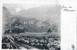 GRUSS AUS MEYRINGEN → Sehr Alter Lichtdruck, Ca.1900 - BE Berne