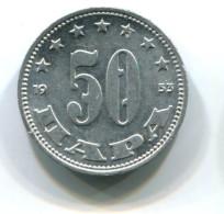 1953 Yugoslavia 50 Para Coin - Yougoslavie
