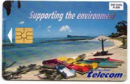 MAURICE Ref MV Cards MAU-29 Date 1998 - Maurice