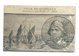 14/ CALVADOS.. Ville De HONFLEUR. Souvenir Des Fêtes De 1923 - Honfleur