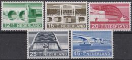 Nederland - Zomerzegels: Bruggen/bridges/Brücken - MNH - NVPH 901-905 - Bruggen