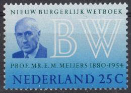 Nederland - Nieuw Burgerlijk Wetboek - Prof.Mr. E.M. Meijers - MNH - NVPH 963 - Periode 1949-1980 (Juliana)