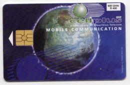 MAURICE Ref MV Cards MAU-32 Date 1999  500 U CELL PLUS 40 000 Ex - Mauritius