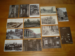 Lot Londres, 15 Cartes. London. 1/2 Penny & 1 Penny Georges V - Cartes Postales