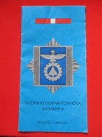 Brosura-Vazduhoplovna Tehnička Akademija,Rajlovac Sarajevo/Brochure-Aeronautical Technical Academy,Rajlovac Sarajev - Aviazione