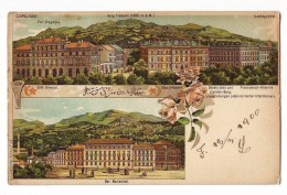 Bosnia, Sarajevo, 1900 K.U.K. MILITARPOST FOCA Litho - Bosnia Erzegovina