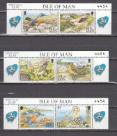 Isle Of Man 1994,3x2 Strip/cornerpiece,birds,vogels,vögel,oiseaux,pajaros,uccelli,aves,:MNH/Postfris(L2849) - Vogels