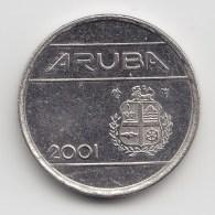 @Y@    Aruba  5 Cent  2001     (3448) - [ 4] Colonies