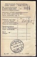 Switzerland Zurich CHECKB. K I  29. 2. 1916 -7 / Postal Checks Invoice - Schweiz