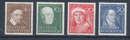 Bund 143/46 * Ungebraucht Mi. 65,- - Unused Stamps
