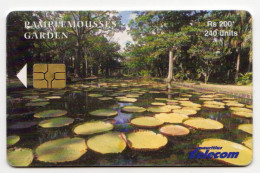 MAURICE Ref MV Cards MAU-57  240 U Pamplemousses Garden DATE 2003 - Maurice