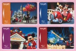 New Zealand - 1997 Disney - Mickey Mouse IV Set (4) - NZ-D-92/95 - Mint - Neuseeland