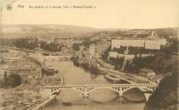 """HUY - Vue Générale Et Le Nouveau Pont """"Hesbaye-Condroz"""" - Huy"""