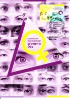 Australia 2011 Maxicard Scott #3412 60c Centenary International Women's Day First Day Issue - Evénements