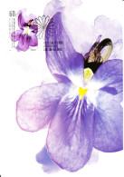 Australia 2011 Maxicard Scott #3422 60c Violet Floral Festivals First Day Issue - Fleurs