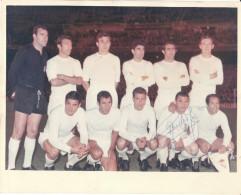 Foto Von Real Madrid 1969 Mit Original Autogramm, - 25 Mal 20cm - Fussball
