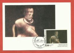 N° 2779 - Art Européen GRANDE BRETAGNE Peintre FRANCIS BACON / PARIS 1992 - 1990-99
