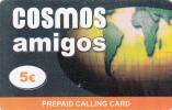 GREECE - Amigos, Cosmos Prepaid Card 5 Euro, Used - Greece
