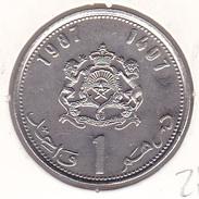 Morocco - 1 Dirham 1987 - UNC - Maroc