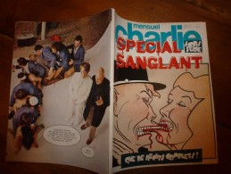 Juillet 1981 CHARLIE MENSUEL :    N°  SPECIAL SANGLANT      Hors Série  98 Pages - Wolinski