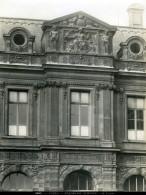 France Paris Palais Du Louvre Architecture Ancienne Photo LP 1900 - Places